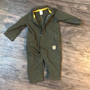 2 for 15. Army green onesie!